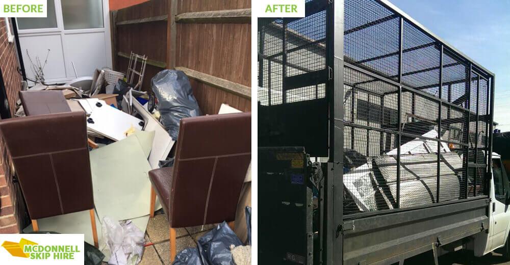 rubbish disposal in Keston