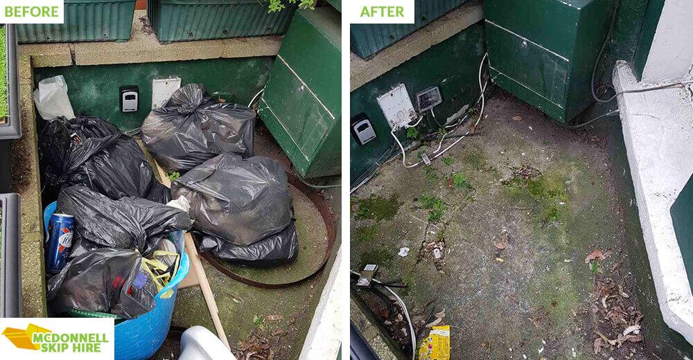 rubbish disposal in Soho