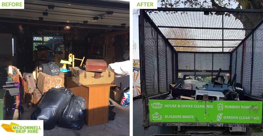 KT9 rubbish clearance Malden Rushett