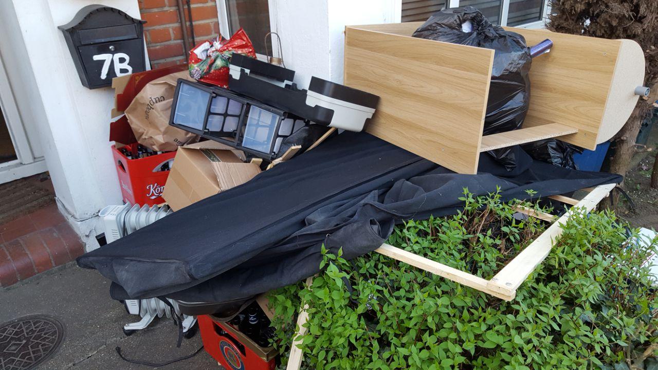 NW4 Garden Rubbish Disposal
