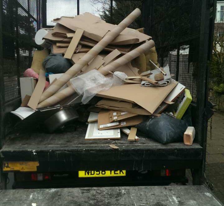 Enfield Wash rubbish collection company EN3