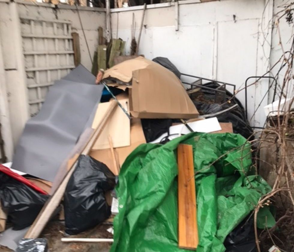 Golders Green rubbish collection company NW11