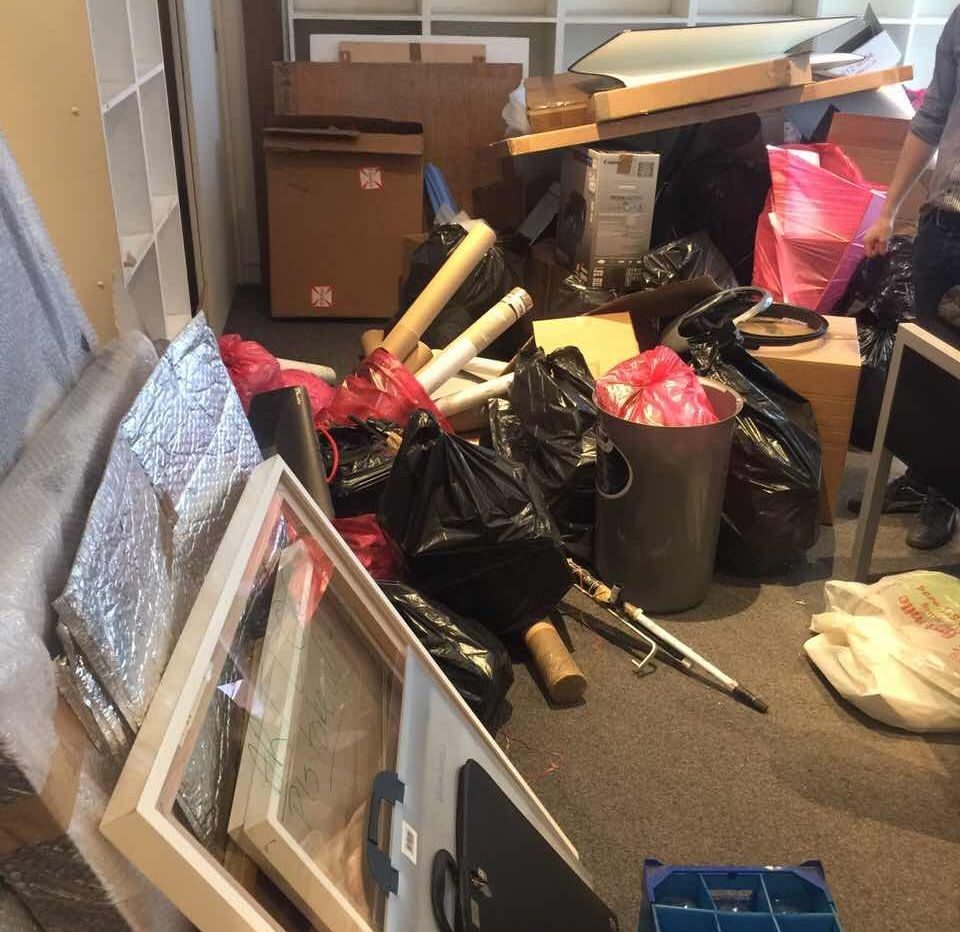 Rubbish Collectors in E15
