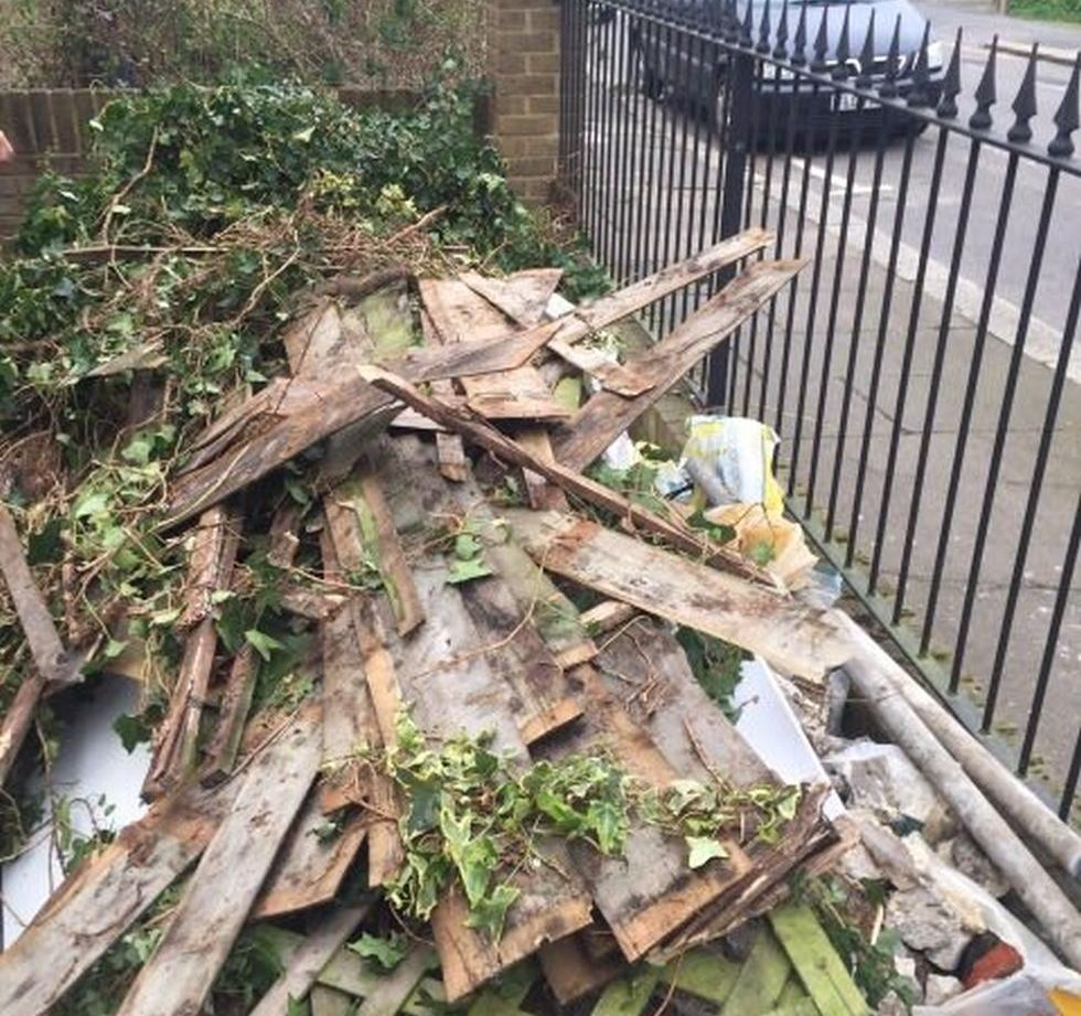 office waste collection Hackney