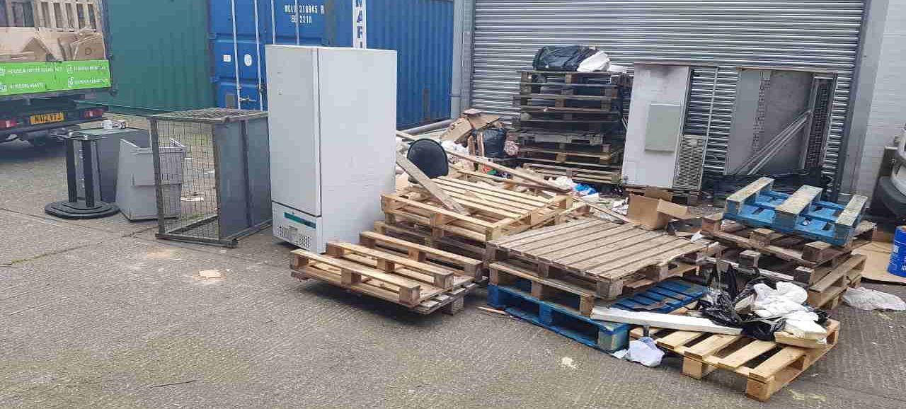 SE12 office recycling service