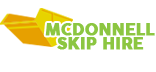 MCDonnell Skip Hire Logo