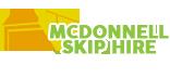 MCDonnell Skip Hire Logo